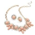 My Astre Souprava bižuterie Růžová elegance