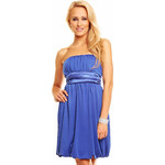 I-Moda Modré večerní šaty Uni(S-L)