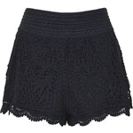 Topshop Crochet Shorts