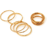 FOREVER21 Mix & Match Ring Set