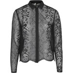 Topshop Snake Lace Shirt