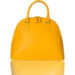 Glamorous by Glam GbyG kabelka kožená kabelka žlutá