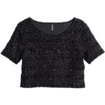 H&M Jacquard-patterned top