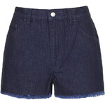 **Low Rise Denim Shorts by Marques'Almeida X Topshop