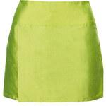 **Silk Taffeta Wrap Skirt by Marques'Almeida X Topshop