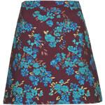 Topshop Floral Tapestry Skirt