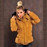 Fashion Módní bunda s odepínací kapucí