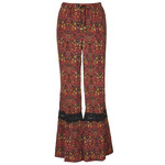 Topshop Lace Trim Flares by Band of Gypsies