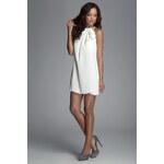Šaty M065 bílá L