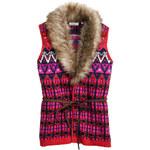 H&M Jacquard-knit waistcoat
