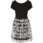 Topshop Cap Sleeve Printed Mini Dress