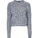 Topshop Shrunken Cable Sweater