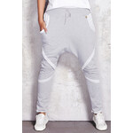 Šedé teplákové kalhoty M052 L/XL