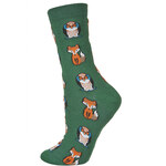Topshop Owl And Foxes Ankle Socks