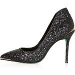 Topshop **Black Snow Point Court Shoes by CJG