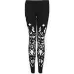 """Tally Weijl Monochrome """"Stained Glass"""" Print Leggings"""