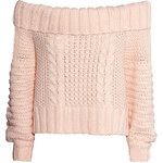 H&M Off-the-shoulder jumper