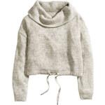 H&M Wide polo-neck jumper