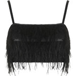 Topshop Feather Bralet
