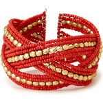 FOREVER21 Globetrotter Beaded Cuff