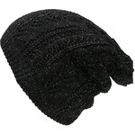 s.Oliver Knit cap with a glitter finish