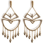 Alexis Bittar Kinetic Crystal Encrusted Chandelier Earrings