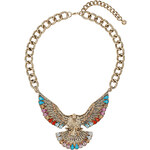 Topshop Eagle Stone Necklace