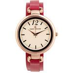 TOM TAILOR pink round watch