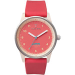 Topshop **Triwa Coral Rubber Lomin Watch