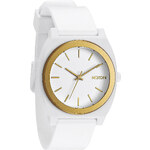 Topshop **Nixon Time Teller White Plastic Watch