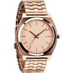 Topshop **Nixon Time Teller Rose Gold Watch