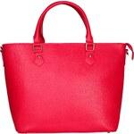 Dámská kožená kabelka Made in Italia / Ferrara - růžová univerzální