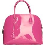 Luxusní lakovaná kabelka Made in Italia / Firenze 1 - růžová univerzální