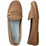 Gap Leather Loafers - Safari khaki
