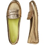 Gap Leather Loafers - Gold