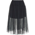 Topshop Layered Mesh Prom Skirt