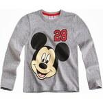 DISNEY MICKEY Tričko Mickey šedé vel.104 (Chlapecké tričko 4 roky)