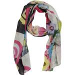 Desigual šátek Flowers And Checks Scarf jaro/léto 2014 Skladem !!!