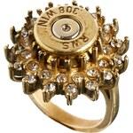 Love Bullets Lovebullets – Ring mit Strassblumendesign