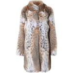 Lilly e Violetta Lynx and Bobcat Fur Coat