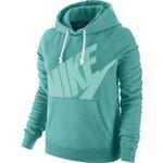 Nike RALLY HOODY-LOGO zelená XS