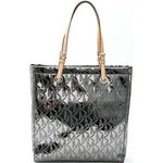 Michael Kors Elegantní business kabelka Jet Set North South Tote Nickel 38T1CTTT3Z