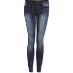 Tally Weijl Grey Wash Low Waist Skinny Jeans