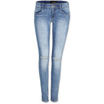 Tally Weijl Light Blue Push Up Jeans with Ripped Knee