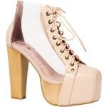 Jeffrey Campbell - Kotníkové boty Celesta01 - průsvitná, 36