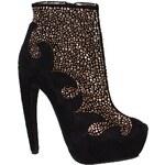Jeffrey Campbell - Kotníkové boty Grammer01 - černá, 36
