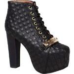 Jeffrey Campbell - Kotníkové boty Lita Link - černá, 37