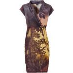 BODYFLIRT Shirtkleid/Sommerkleid kurzer Arm in schwarz (V-Ausschnitt) von bonprix