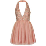 Topshop **Plunge Halterneck Skater Dress by Opulence