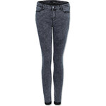 Tally Weijl Grey Second Skin Jeans in Acid Wash
